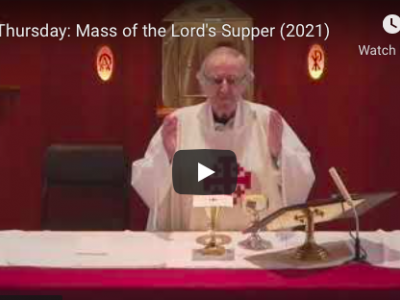 Holy Thursday Mass (Replay)